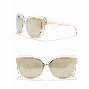 TORY BURCH - 55mm Irregular Sunglasses NWT